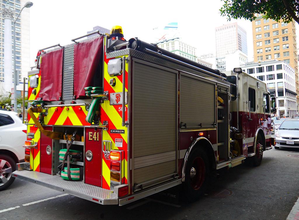 San Francisco, California - USA | S F F D  Crimson Pumper at