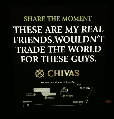 Chivas Regal - these are my real friends