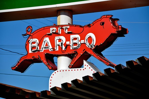 Pit Bar-B-Q at What-a-burger