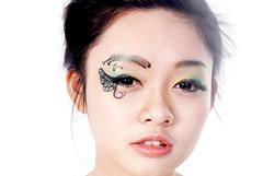 nose, chin, face, skin, lip, head, eyelash, ear, cheek, eyelash extensions, close-up, mouth, eyebrow, forehead, beauty, eye, organ,