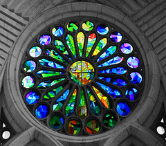 art, symmetry, glass, circle, stained glass,