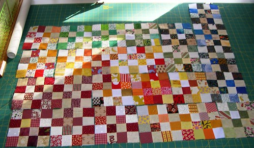 16 Patch Baby Quilt