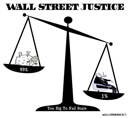 WALL STREET JUSTICE by Colonel Flick/WilliamBanzai7