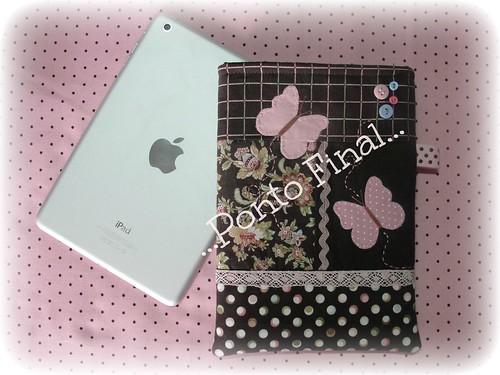 ...Capa para Ipad Mini... by Ponto Final - Patchwork