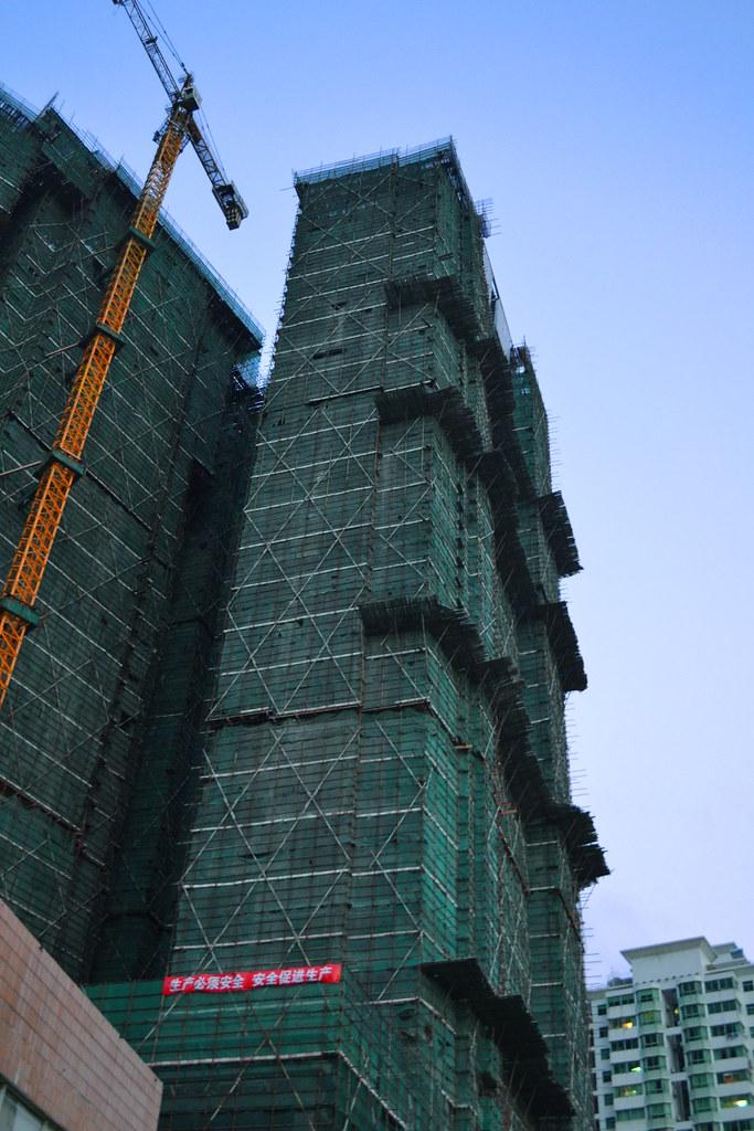 Bamboo scaffolding, Zhuhai