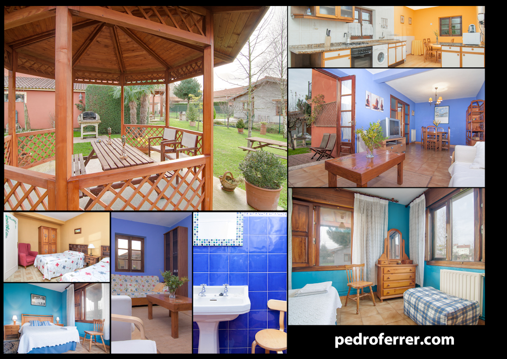 Apartamento con jardín en Queveda