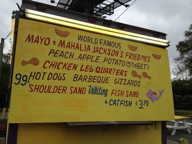 Mayo's & Mahalia Jackson Fried Pies & BBQ