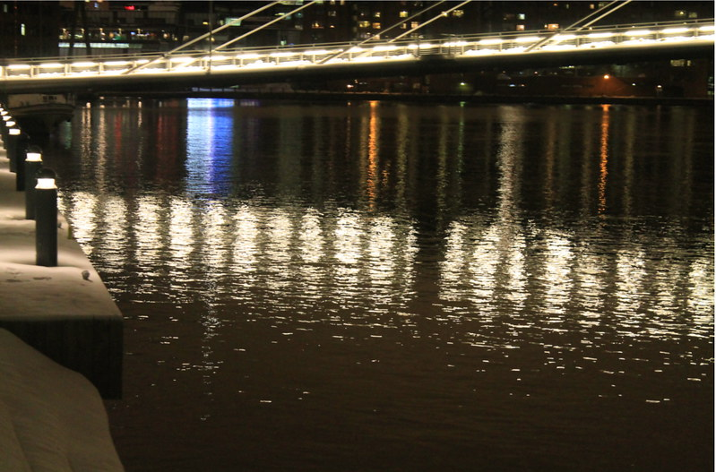 lights in the water
