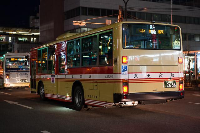 京王バス東 中野営業所 旧塗装 A31304号車