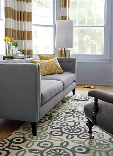 Crate And Barrel Tristan Rug Jace Interiors Flickr