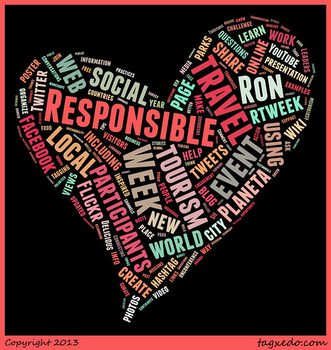 Be a romantic. Fall in love with Responsible Travel Week Feb 11-17 #rtweek2013