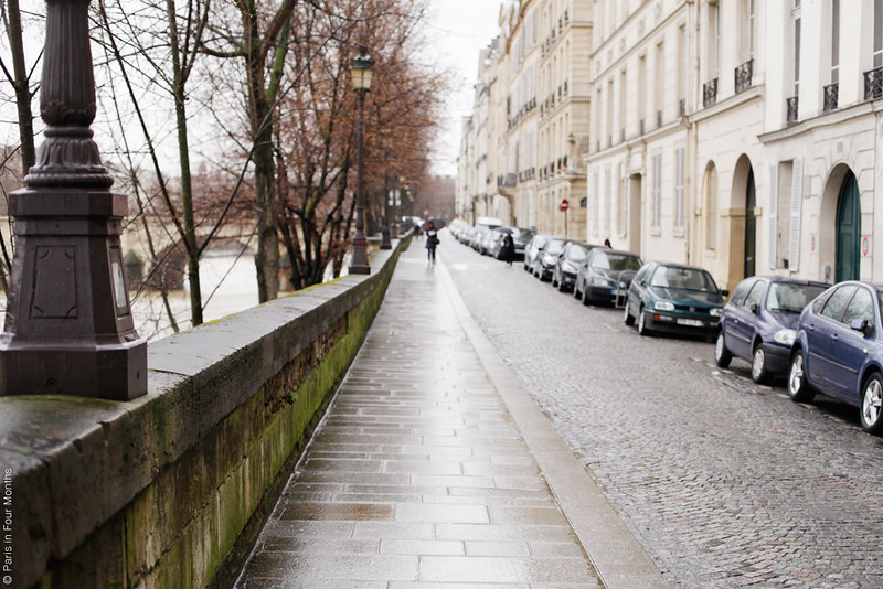 Île Saint Louis by Carin Olsson (Paris in Four Months)