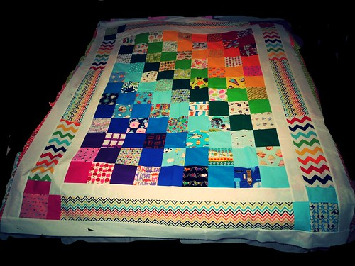 iSpy quilt WIP