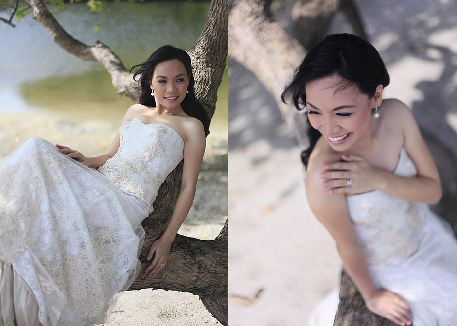 Sumilon Island Resort Post Wedding Session, Sumilon Island Cebu Wedding