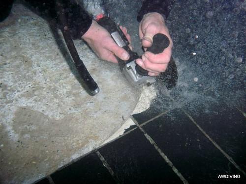 Onderwater slijpen
