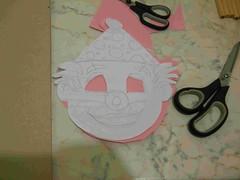 fig 1 maschera da pagliaccio