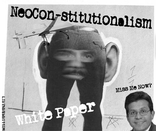 NEOCONSTITUTIONALISM by Colonel Flick/WilliamBanzai7