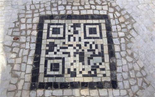 QR code mosaic