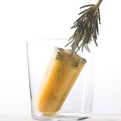 Apple Cider, Rosemary Ice Pops