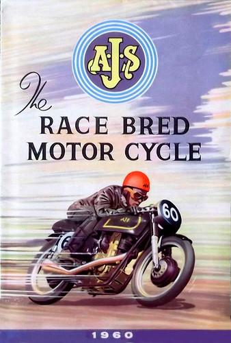 1960 AJS   Race Bred by bullittmcqueen