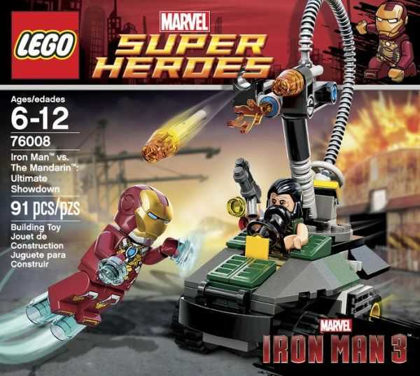 LEGO Super Heroes Marvel 76008 - Iron Man vs. The Mandarin: Ultimate Showdown