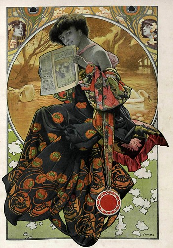 017-Dibujo 3- Gaspar Camps- Album Salon enero 1905-Hemeroteca de la Biblioteca Nacional de España