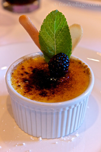 Vanilla Creme Brulee at Emeril's (New Orleans)