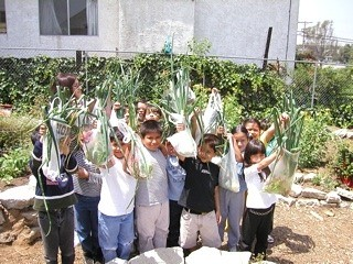 Garden shot of kids - Healthy Living Nutrition Healthy Eating White Memorial Medical Center Charitable Foundation