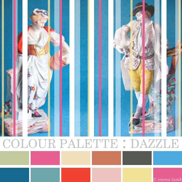 colour palette : dazzle | Emma Lamb