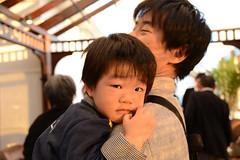 結婚披露パーティーのとらちゃん(のまさん撮影) 2013/2/16