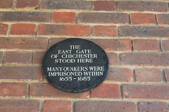 Photo of East Gate, Chichester black plaque