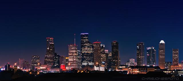 2013 NBA All Star Weekend Skyline