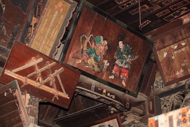 Wooden plaque / EMA, HOUNOU-GAKU / 絵馬・奉納額(えま・ほうのうがく)