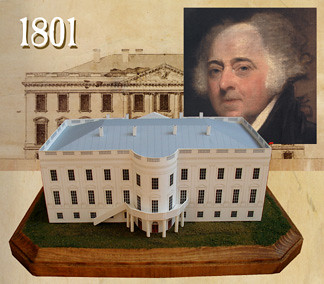 White House in 1801
