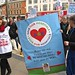 Save Our Hospitals: the march in Hammersmith
