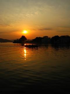 Sunset  @ Udaipur, India