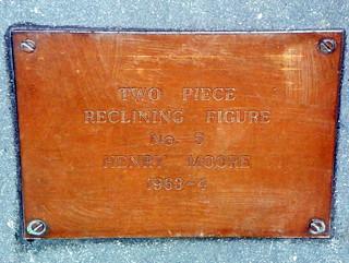GOC Hampstead 106: Two Piece Reclining Figure No. 5 (plaque)