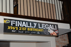 Finally Legal! X96 Turns 21