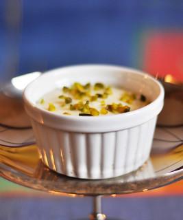 Mouhalabieh Flammeri orientalisch Dessert Süßspeise Nachspeise Orient orientalisch Milch Saft fruchtig exotisch