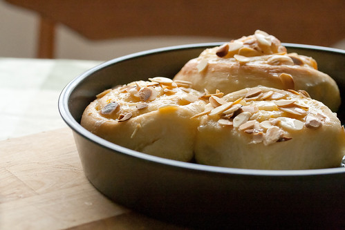 Sweet Orange and Almond Rolls