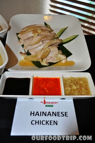 Hainanese Chicken Meal