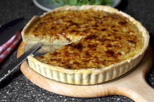 french onion tart + uk cookbook release | smitten kitchen