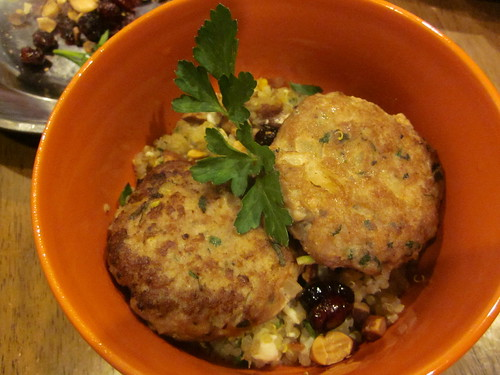 turkey patties & quinoa