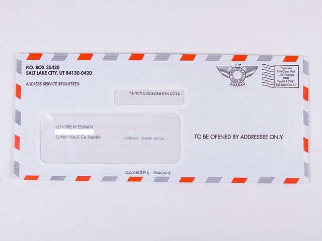 Important Envelopes 1