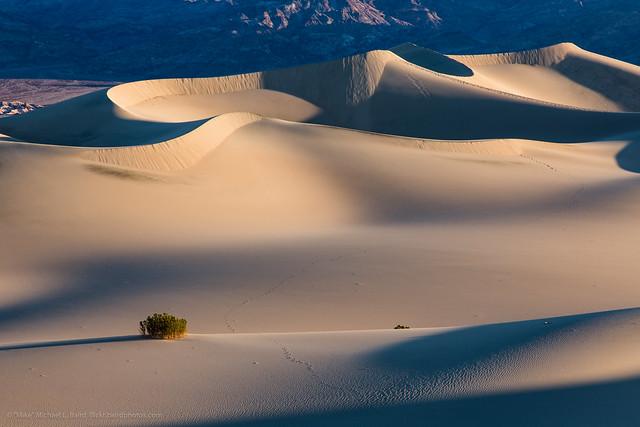 Dunas de Arena en el Parque Nacional del Valle de la Muerte, California