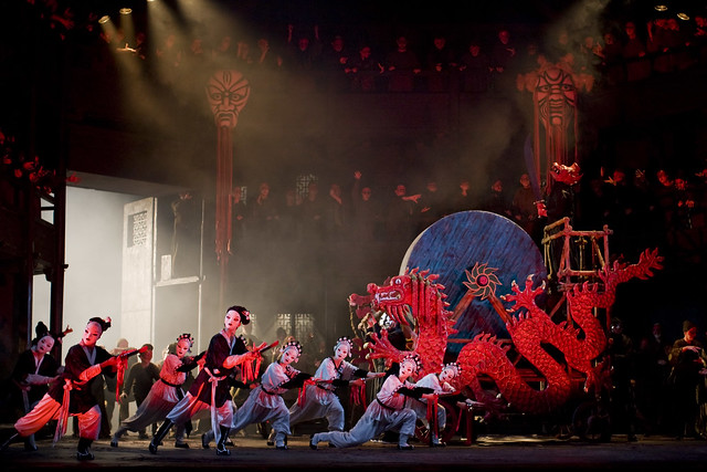 The Royal Opera in Turandot. © ROH / Johan Persson 2008