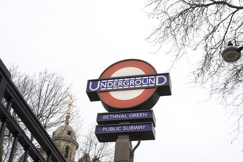 Bethnal Green tube station