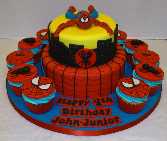 Goldilocks Birthday Cakes Designs For Boy : Spiderman Cake Explore LizzieQ Creations  photos on ...
