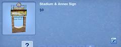 Stadium & Annex Sign