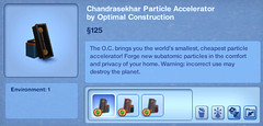 Chandrasekhar Particle Accelerator by Optiman Construction